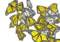 'Monarch 2', 2010, watercolour on 300gsm Arches, 14.9cm x 21.1cm